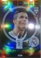 Cristiano Ronaldo Icon 2 Madrid Nordic Edition Adrenalyn XL 2017 FIFA 365 Rare