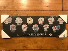 ST. LOUIS CARDINALS BASEBALL ART  I DREAM RED (10X30 - BLACK ) NEW IN WRAPPER