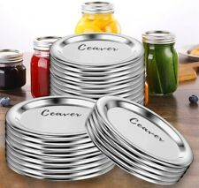 (72-Count) Regular Mouth Mason Jar Lids for Ball,Canning Lids BPA-Free