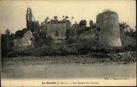 Le Guildo France CPA ~1910/20 les Ruines du Chateau Schloß Ruine Fluß ungelaufen