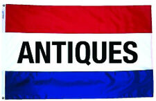 NEW 3X5ft ANTIQUES SIGN BANNER 90x150cm FLAG better quality usa seller