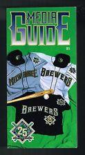 1994 Milwaukee Brewers Baseball MLB Media GUIDE