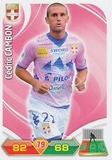 CEDRIC CAMBON EVIAN THONON ETG TRADING CARDS ADRENALYN PANINI FOOT 2013