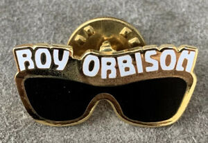 Vintage ROY ORBISON Official Artist Merchandise Sunglasses Pin Jewelry