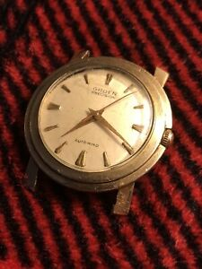 Vintage Gruen Precision Auto-wind Automatic Swiss Mens Watch 50s