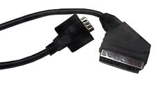 SCART Plug to VGA 15 Pin 'D' Plug Lead 1.5m Audio Video Cable For LED LCD TV's