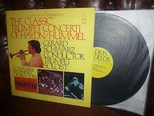 "Audiophile DMS Delos Digital Giappone, Haydn Hummel, Gerard NERO LP, 12"" 1979"