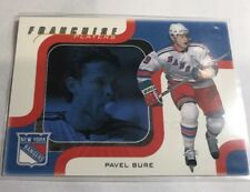 2002 In The Game ITG PAVEL BURE 055/100 Franchise Players NY Rangers
