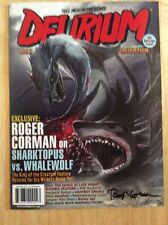 SIGNED - Roger Corman Delirium Magazine # 8 Little Shop Of Horrors + Pic New