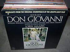 MAAZEL / MOZART don giovanni soundtrack ( classical ) - SEALED NEW -