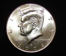 2008 D Kennedy Half Dollar BU Uncirculated  Flat fee shipping