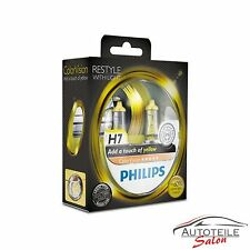 Philips h7 Colorvision Yellow amarillo +60% set 2x h7 12v 55w 12972 cvpys 2