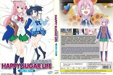 ANIME DVD~Happy Sugar Life(1-12End)English sub&All region FREE SHIPPING+GIFT