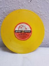 1969 WALT DISNEY 45 RPM CHILDS RECORD FROM PETER PAN MOVIE WHAT MADE RED MAN RED