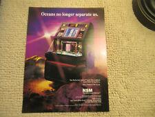NSM  JUKEBOX  performer grand oceans no longer  FLYER