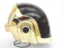 Dj Party DAFT PUNK Guy Manuel Helmet, Gold Chrome 24k , Brand new