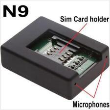 New N9 Mini Gsm Spy Audio Listening Bug 2x Sensitive Microphone For Uk/Eu/Us SIM