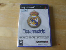 Real Madrid Club Football Sony PlayStation 2 Ps2 3 Soccer Game