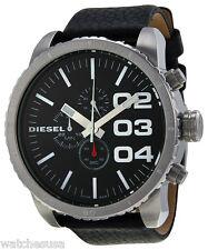 4efad373b52e Diesel DZ-4208 Black Dial Black Leather Strap Chronograph Men s Watch