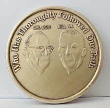 Alcoholic Founders Followed Our Path Medallion Coin Medal Token AA Anonymous