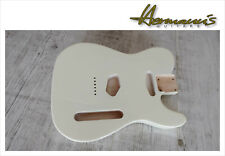 Tele Style Erle Body, Tele Alder Body, Finish High Gloss Vintage White