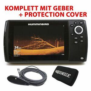 Humminbird Helix 7 CHIRP Mega Down Imaging GPS G3 Echolot Fishfinder mit Geber