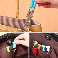 4X Creative Anti Lost Bag Hook Install Built-key Holder Key Clip for Easy Car YT