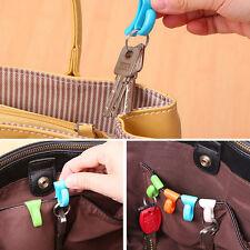 4X Anti Verloren Taschenhaken Installieren Built-key Halter Schlüsselclip RA