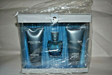 3pc Set NIB Realities Graphite Blue cologne spray + body wash + after shave