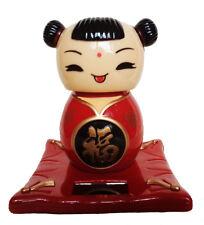 statuette enfant chinois solaire porte bonheur