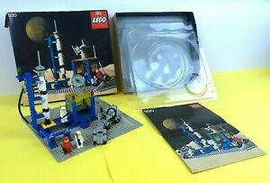 LEGO Classic Space Alpha-1 Rocket Base 920 Box Instructions and Plastic Trays