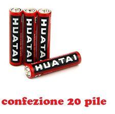 Set 20 Pezzi Pile Batterie R06 AA Stilo Um-4 1.5V  hsb