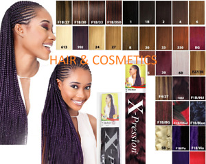 X-PRESSION ULTRA BRAID HAIR EXTENSION ALL COLOURS AVAILABLE-FREE UK DELIVERY !!