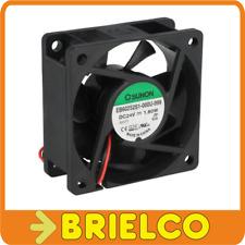 VENTILADOR TERMOPLASTICO 24VDC 1.8W 60X60X25M 4500 ROTACION/MIN 2 CABLES BD11364