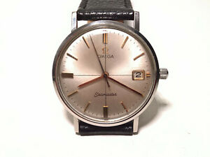 ULTRA RARE VINTAGE OMEGA SEAMASTER WATERPROOF ALL STAINLESS HAND-WINDING 34,2MM