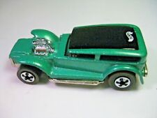 Vintage Series Hot Wheels Demon Car, Mattel's,  Metallic Aqua/Teal 1969
