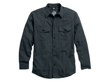 HARLEY-DAVIDSON® MEN'S WRINKLE-RESISTANT PLAID SHIRT 96056-16VM SMALL