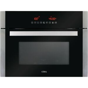 CDA VK902SS Built-in Combination Microwave Grill & Compact Fan Oven 40L S/Steel
