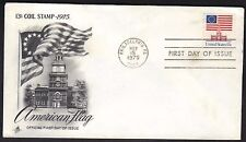 US Scott # 1622 FDC 13c Flag Over Independence Hall Stamp FDC Art Craft