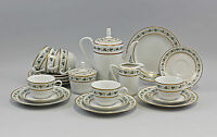 99840239 Coffee Service Vine Leaves with Golden Rim Kahla Thuringia