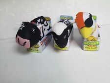 FARMVILLE ANIMAL GAMES MEMORY OLD MAID GO FISH LOT OF 3 HASBRO AGES 4+ NEW