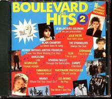 BOULEVARD DES HITS VOLUME 2 - COMPILATION CD 1987 FRANCE [2038]