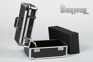 berwall SW 047 Twin Doppel Pistolenkoffer Waffenkoffer Kurzwaffenkoffer guncase