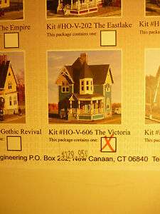 "HO Miller Engineering Victorian Homes kit #V-606 ""The Vicxtoria"""