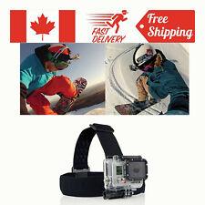For GoPro GO PRO HD Hero 2/3 Camera New Head Strap Mount Belt Elastic Headband