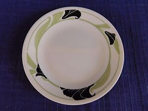 Corelle Black Orchid BREAD PLATE *have more items to this set