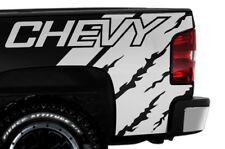 Vinyl Decal Graphic Wrap Kit CHEVY QUARTER for 08-13 Chevrolet Silverado WHITE