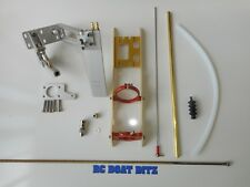 """RC boat complete hardware kit suit 30""""-40"""" mono Pursuit, Osprey, Delta force etc"""
