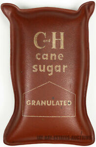 VINTAGE C and H CANE SUGAR PAPER WEIGHT SAN FRANCISCO,CA SUGAR BROKERS A.A.BROWN