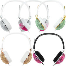 Anti-noise Music Headphone with Artificial Crystal Rhinestone Bling Headset